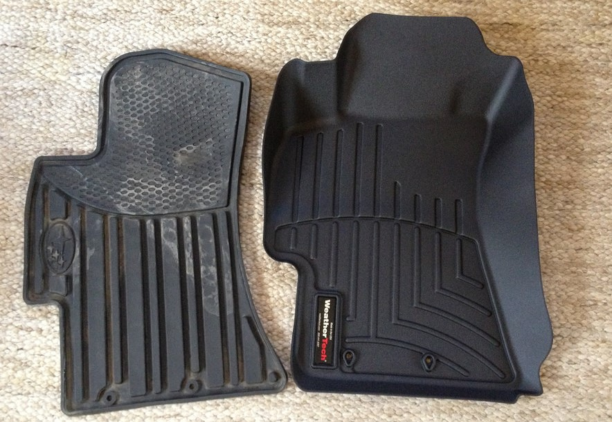 mat front weathertech mats frontrear rubber rear tan all allweather floor weather f